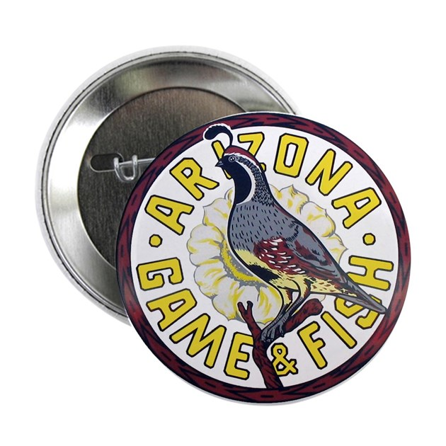 Arizona game and fish button by civicseal for Az game and fish
