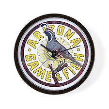 Arizona Game and Fish Wall Clock