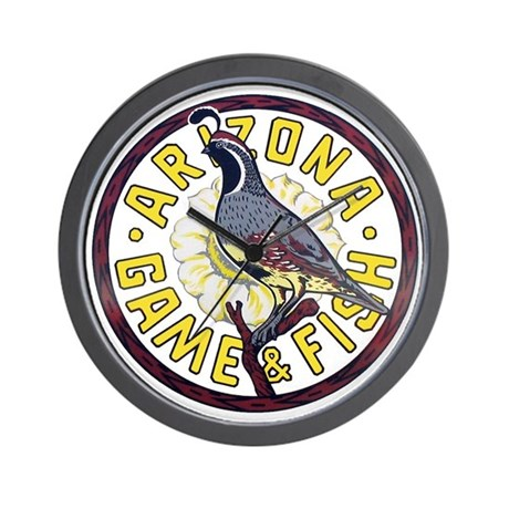 Arizona game and fish wall clock by civicseal for Az game and fish fishing report