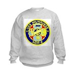 USS Milwaukee (AOR 2) Kids Sweatshirt