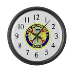 USS Milwaukee (AOR 2) Large Wall Clock