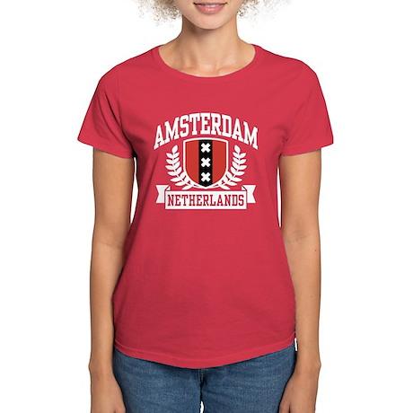 Amsterdam Netherlands Women's Dark T-Shirt