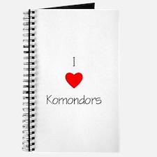 I Love Komondors Journal