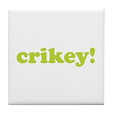 Crikey! Tile Coaster