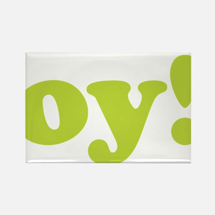 oy! Rectangle Magnet