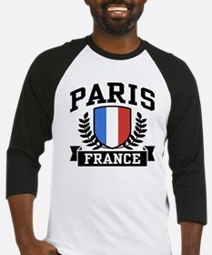 Paris France Baseball Jersey