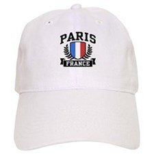 Paris France Baseball Cap