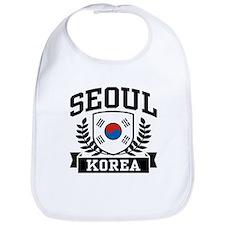 Seoul Korea Bib