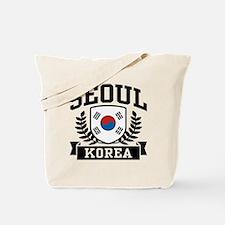 Seoul Korea Tote Bag