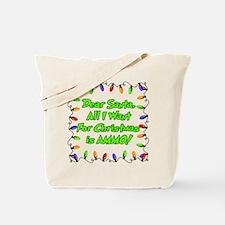 Santa Christmas Ammo Tote Bag