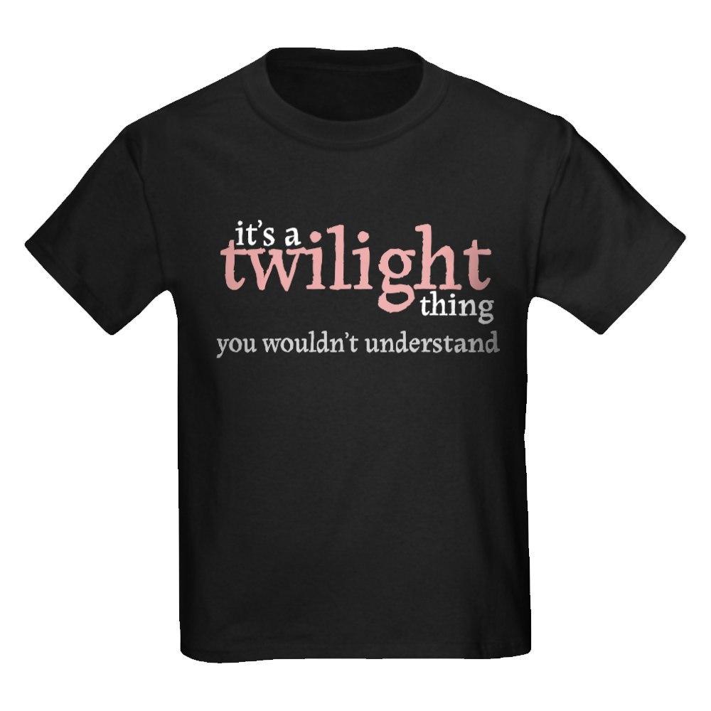 CafePress Twilight Thing Kids Dark T-Shirt