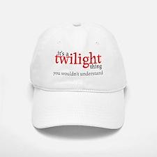 Twilight Thing Baseball Baseball Cap