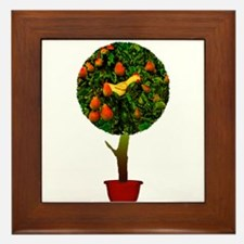 Rubber Chicken In A Pear Tree Framed Tile