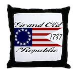 1787 Grand Old Republic Throw Pillow