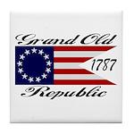 1787 Grand Old Republic Tile Coaster