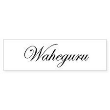Waheguru Bumper Bumper Sticker