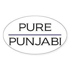 Pure Punjabi Oval Decal