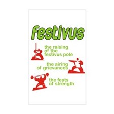 festivus! Rectangle Decal