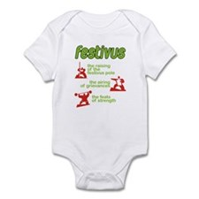 festivus! Infant Bodysuit