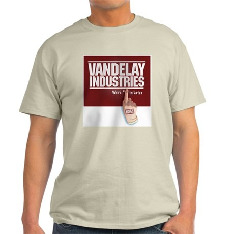 VANDELAY LATEX Ash Grey T-Shirt
