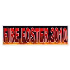 Fire Bill Foster (sticker)