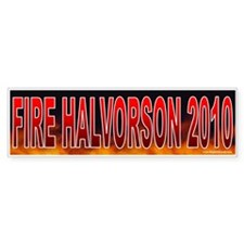 Fire Deborah Halvorson (sticker)