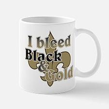 Bleed Black & Gold Mug