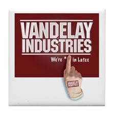 VANDELAY LATEX GLOVE Tile Coaster