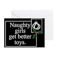 Naughty Girls Greeting Cards (Pk of 10)
