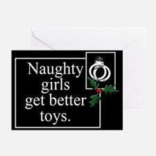 Naughty Girls Greeting Cards (Pk of 10)