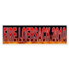 Fire David Loebseck (sticker)