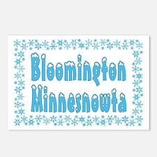 Bloomington Minnesnowta Postcards (Package of 8)