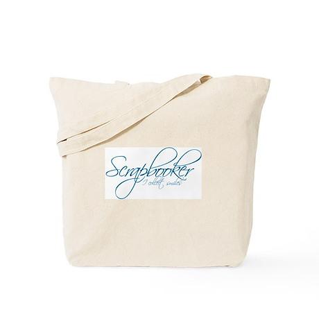 Scrapbooker - I collect smiles Tote Bag