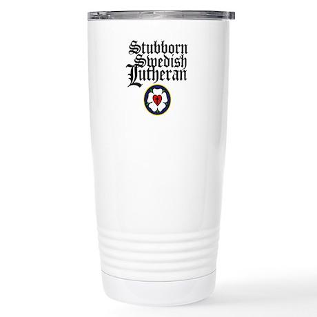 Stubborn Swedish Lutheran Stainless Steel Travel M