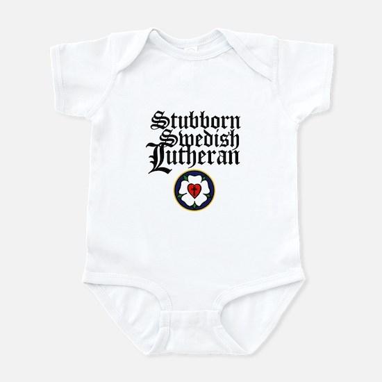 Stubborn Swedish Lutheran Infant Bodysuit