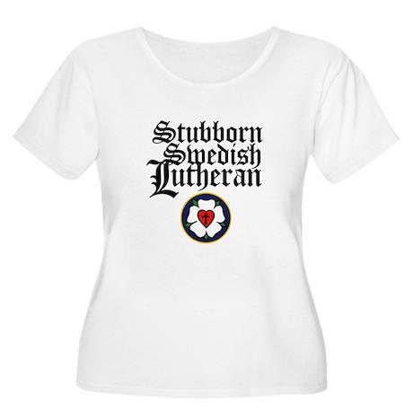 Stubborn Swedish Lutheran Women's Plus Size Scoop