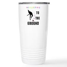 Colorful Happy Birthday to th Travel Mug