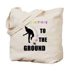 Colorful Happy Birthday to th Tote Bag