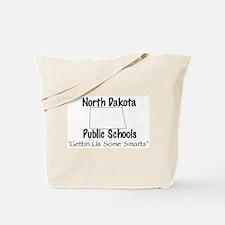 North Dakota Schools Tote Bag