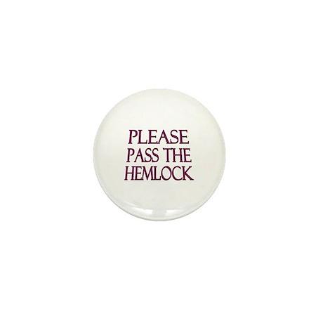 Hemlock Mini Button
