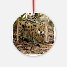 Serval Ornament (Round)