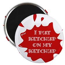 Cute Ketchup Magnet