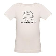 Volleyball Rocks Tee