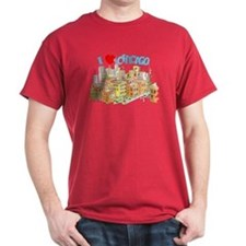 I LOVE CHICAGO. T-Shirt