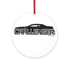 Challenger LX Ornament (Round)