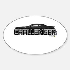 Challenger LX Oval Decal