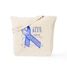 I Wear Blue for my Grandpa Tote Bag