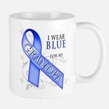 I Wear Blue for my Grandpa Mug