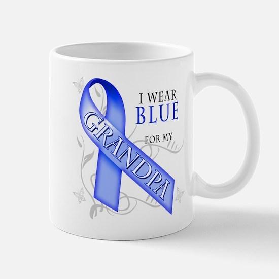 I Wear Blue for my Grandpa Mug