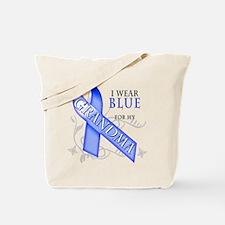 I Wear Blue for my Grandma Tote Bag